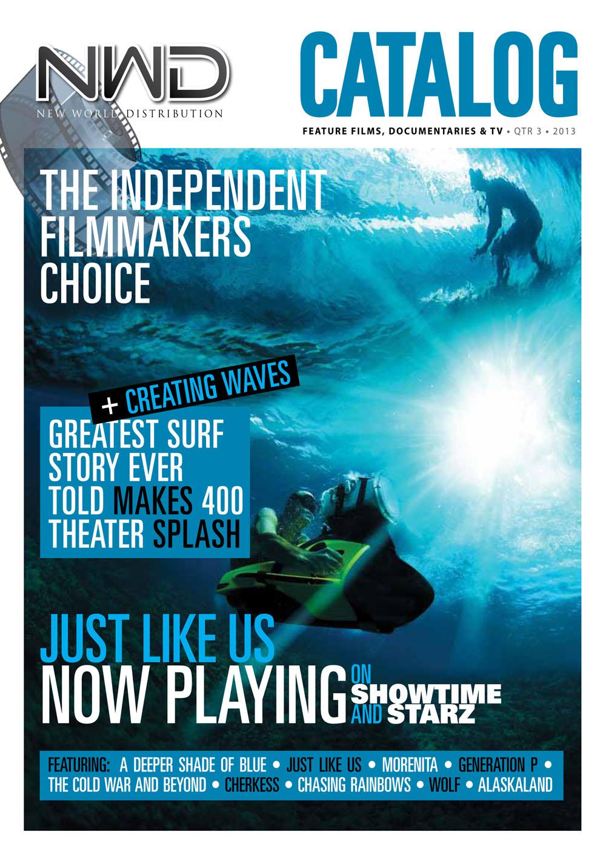 New World Distribution film Catalog design