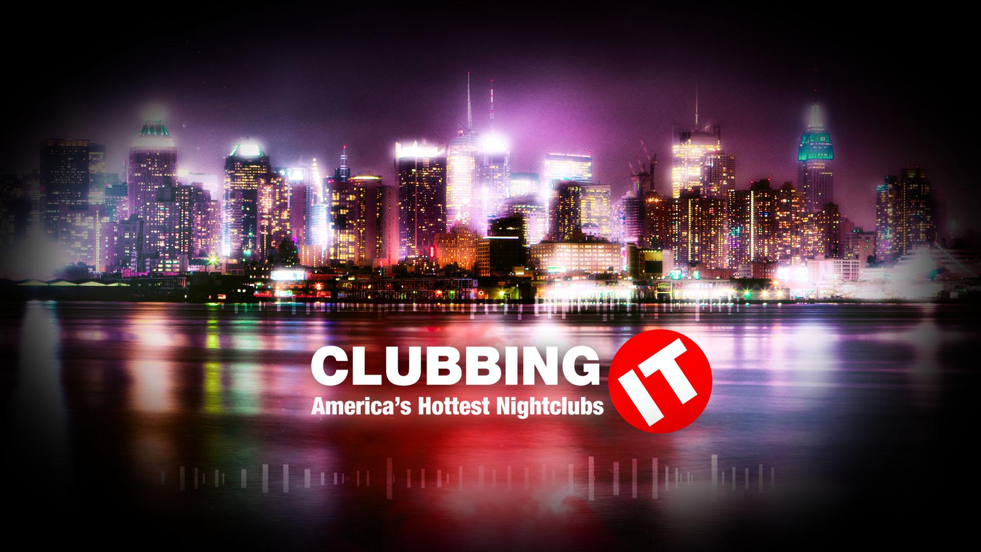 Clubbing IT TV series leader design