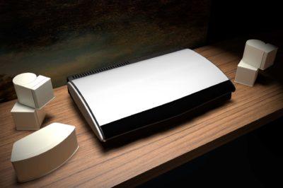 Bose Media Center and Speakers CGI