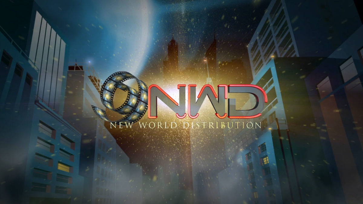New World Distribution CGI film leader design