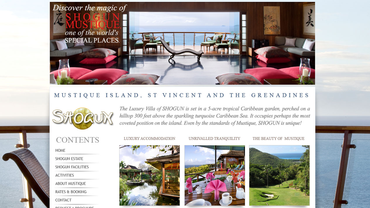 Shogun House Mustique