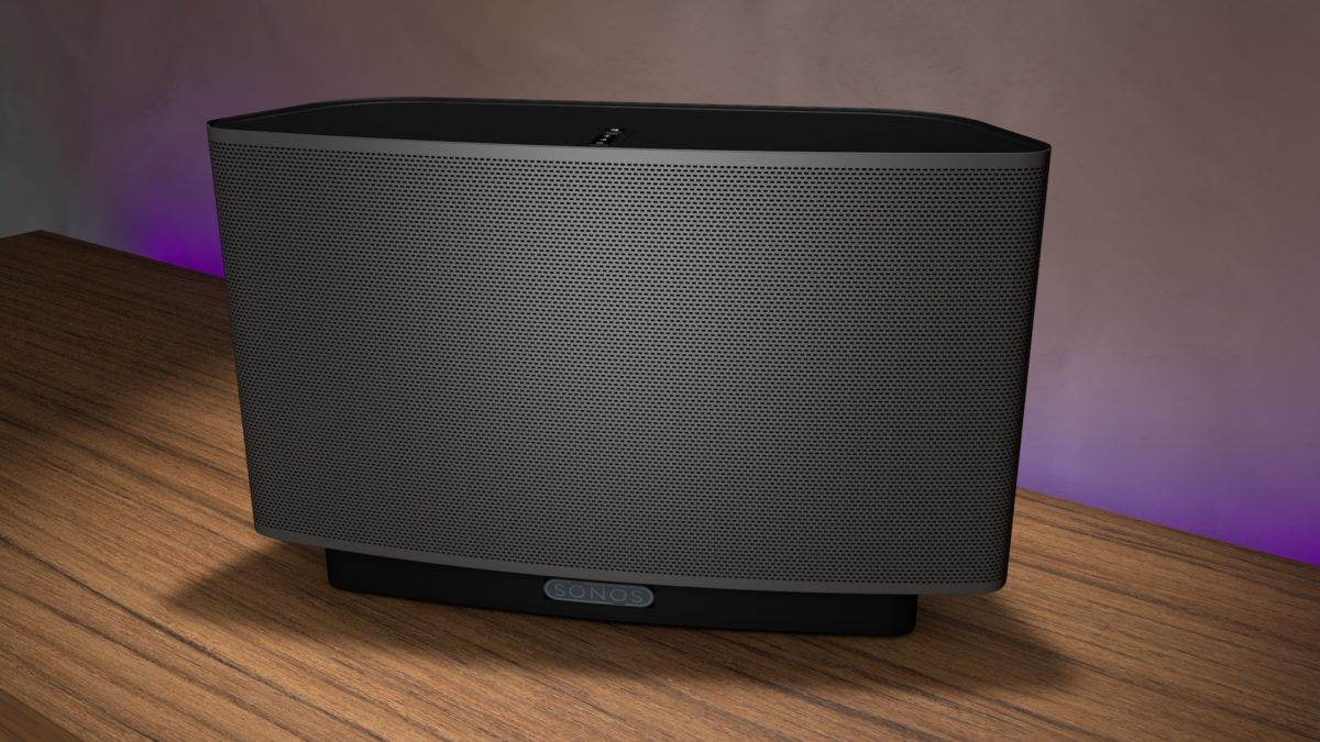 Sonos Zone Player CGI