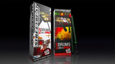 StreetBeat Drumsticks release version CGI of retail pack